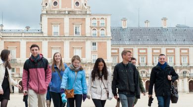 Madrid study abroad students