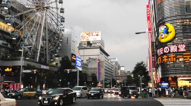 Nagoya study abroad student photo of Sakae Street