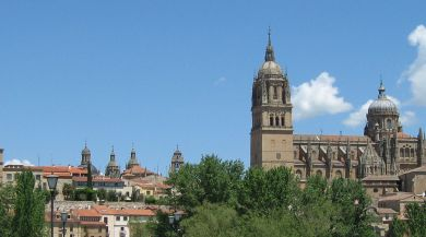 Landmark building in Salamanca, Spain