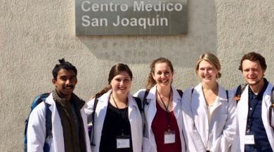 IES Abroad Santiago Health Studies Students