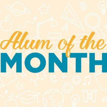 Alum of the Month Header