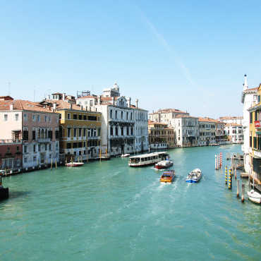 The Venice Grand Canal