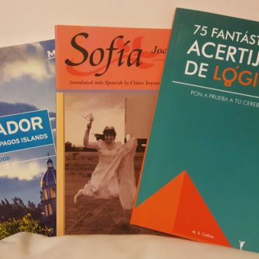 Books to improve my language immersion in Ecuador