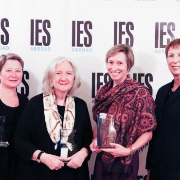 Award winners with CEO Mary M. Dwyer