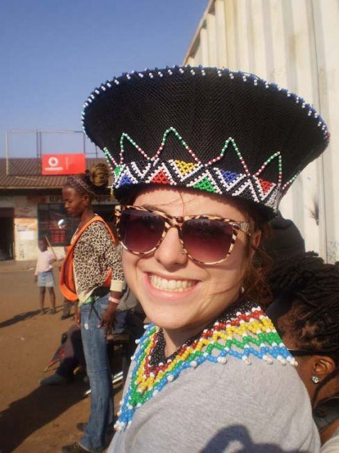 Student wearing cultural garb