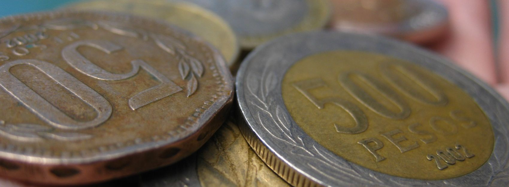 Peso Coins Close-Up Shot
