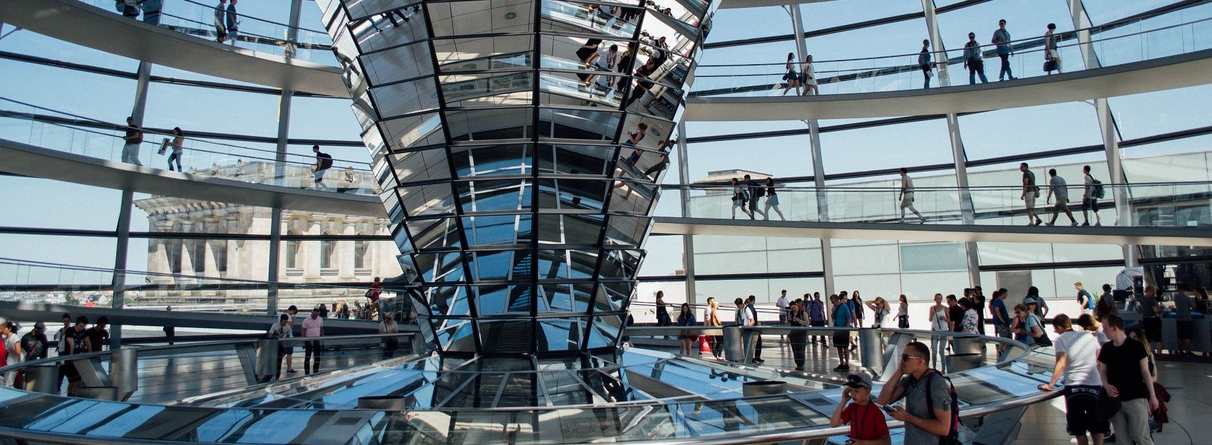 famous Reichstag architecture abroad in Germany