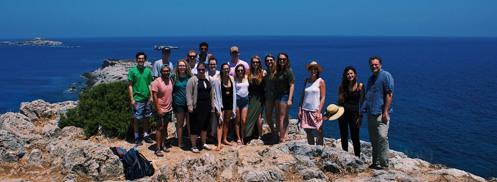Student Group & Faculty in Cyprus