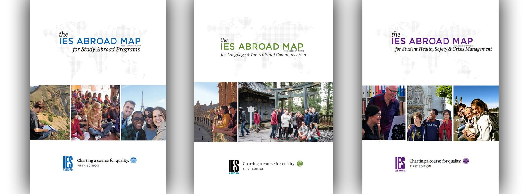 IES Abroad MAP Series Covers