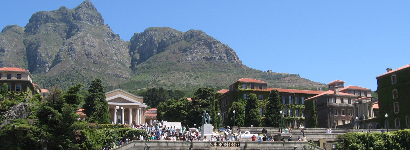 Cape Town study abroad student photo of the campus