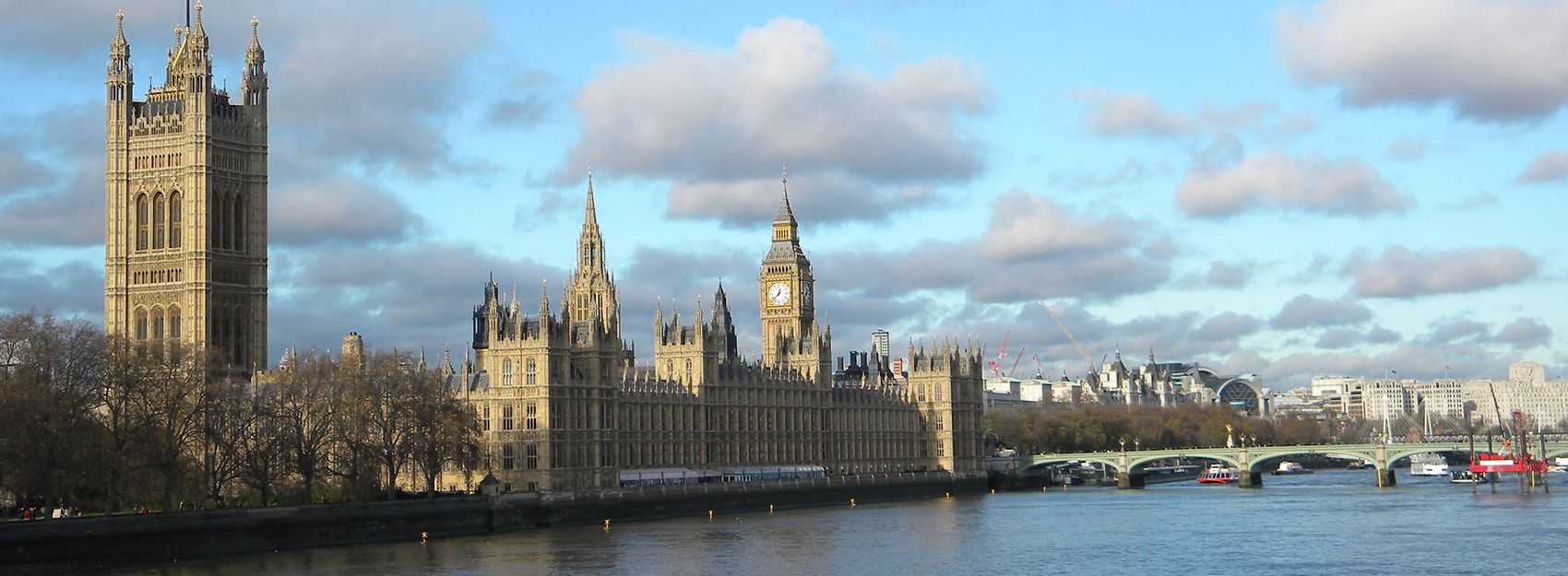View of London, England in Summer