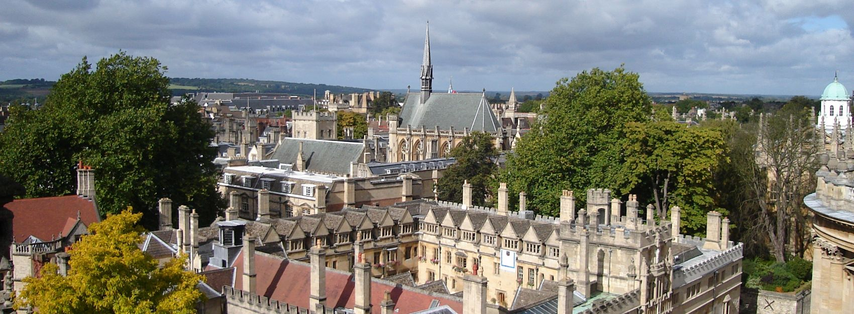 Panoramic of Oxford