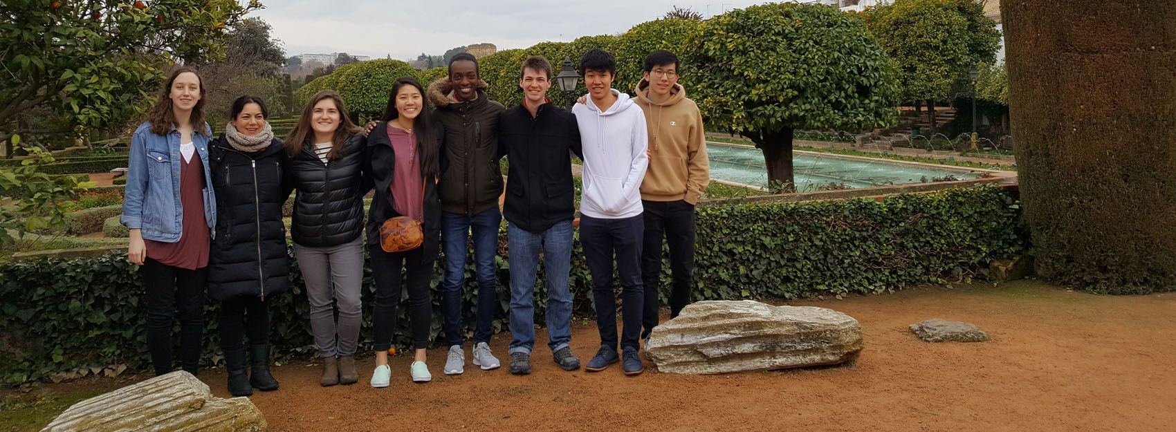 students in spain