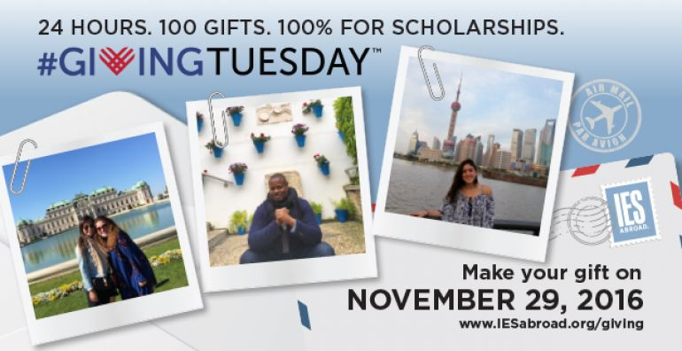 Make your gift on #GivingTuesday 11.29.16