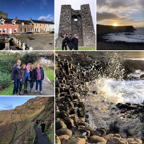 "PC: Emma Kayton | University of Rochester, IES Abroad Dublin - DCU, Spring 2019  The craic was 90 during this semester's ""Tales, Terrain & Troubles of Northern Ireland."" Or, in other words... It totally ROCKED!  #iesdublin #iesabroad #studyabroad"