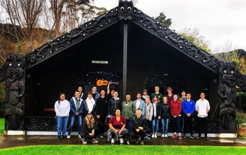 Welcome to our wonderful group of students. Fall 19 is going to be a great semester!#studyabroad #iesabroad #waiheke #kiapiritahi #auckland #aotearoa #newzealand #orientation #fall19