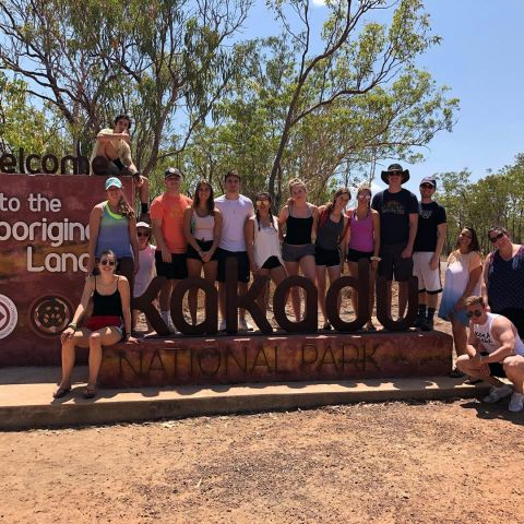 What a trip! We are home from an amazing time in the Top End. Kakadu, Litchfield and Darwin - swimming, hiking and having a ball in the outback. #iesabroadsydney #iesabroad #territoryexpeditions