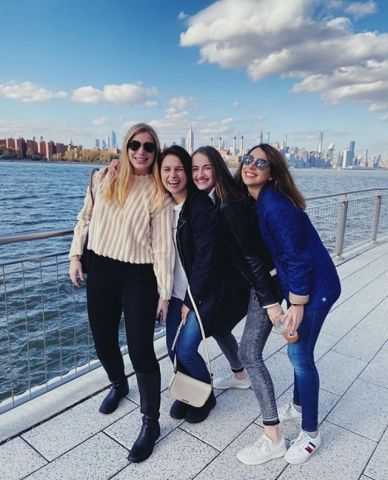 From rainy #Mallorca to sunny #NYC, this friendship remains strong  . . . #Barcelona #StudyAbroad #Reunion #Alumni  by @sarah.strebb | Fall 2018