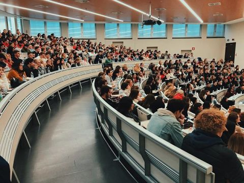 1.14.2020- Orientation day for the Spring 2020 semester  We're ready to start off with all 343 of you!