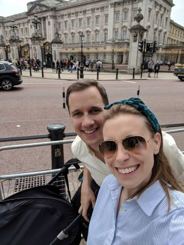 This was our first trip back to London with our son who was four months old at the time. We wanted to show him all the places mom and dad frequented when we lived there.