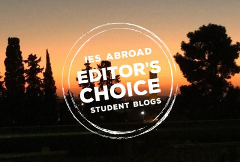 editors choice logo over image of sunset and trees