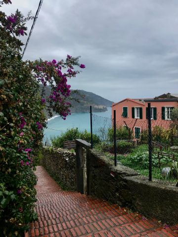 Cinque Terre from the Stairs