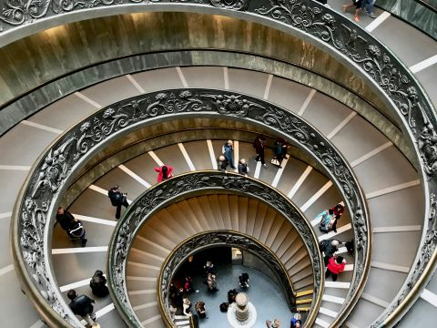 Staircase in the Vatican
