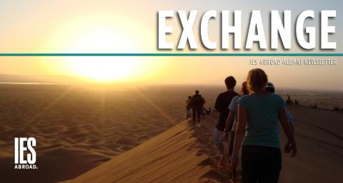Online Exchange sunset photo