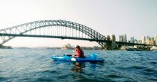 The most beautiful place to kayak, Sydney Harbour