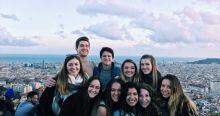 My Spanish class on our last day in Barcelona.