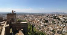 Views from the top of the Alhambra