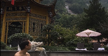 The hot springs at Huangshan