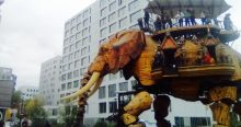 "The Elephant of ""Les Machines de l'Île"""