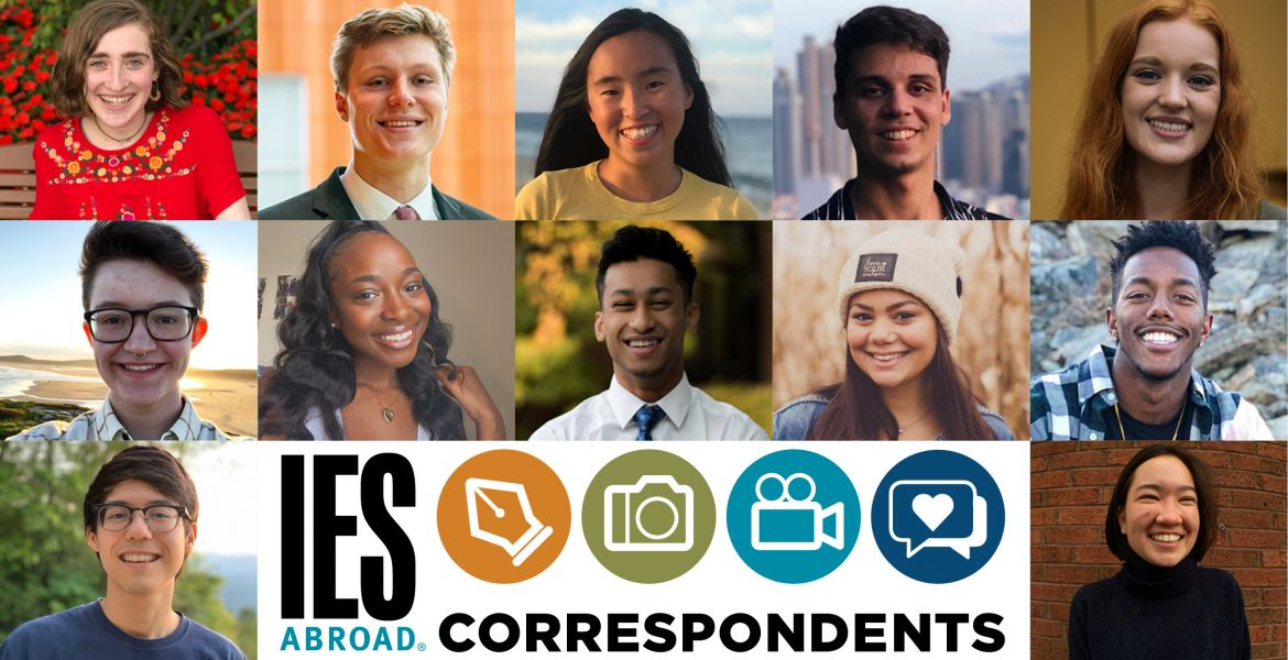 Spring Correspondents with IES Abroad Logo