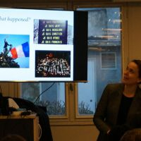 Presentation at the Charlie Hebdo and Paris Today Roundtable