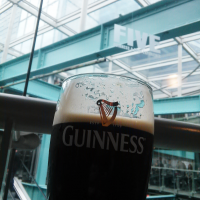 The Famous Guinness Draft, in the Guinness Storehouse!