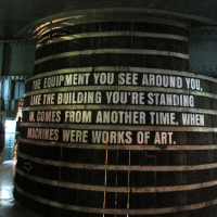 Quote Inside the Guinness Storehouse