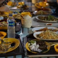 Food at Outdoor Market