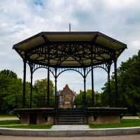 A Gazebo in the Middle of Oosterpark
