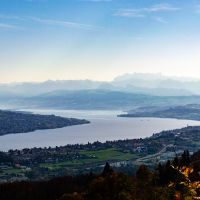Lake Zurich from the Mountains