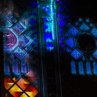 Stained Glass as a Part of GLOW