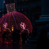 Glowing Ornament in Italy