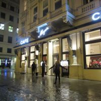 One of the many Cafés in Vienna. Kinda pricy, but definitely worth it.