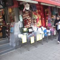 One of the shops at the market.