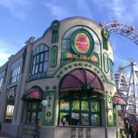 Prater is the big amusement park in Vienna. They opened briefly for Fasching.
