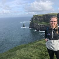 Me with the Cliffs of Moher