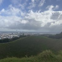 Top of Mount Eden