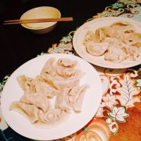 My family loves to make jiaozi (dumplings) together