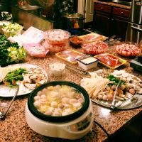 Hotpot at home, I wonder how it will compare in Beijing.