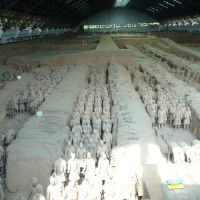 Room full of Terracotta Warriors